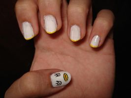 Anime Nails - Elizabeth by Camilicks