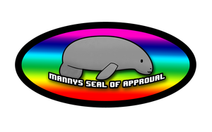 Manny's Seal Of Approval by SpinninMan