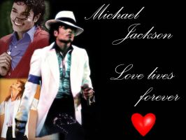 First MJ Wallpaper! by Wings-of-Sapphire