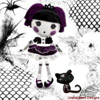 Second Gothic LaLaLoopsy doll. by UnstabilizedDesigns