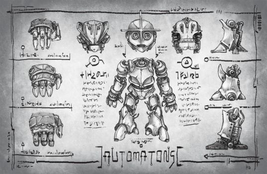 Quantum Races: Automatons by butterfrog