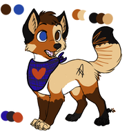 CP .:Fennekfuchs:. Charadesign by Keshvel