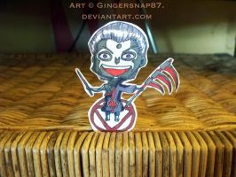 Hidan PaperChild Commission for SapphireLeaf10 by Gingersnap87