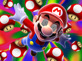 Mario on Shrooms by Games4me