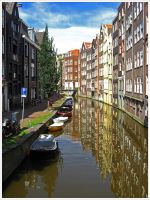 Streets of Amsterdam III by Andrei-Joldos