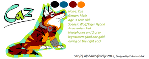 OFFICIAL CAZ REFERENCE SHEET 2012 by AlphaWolfKodijr