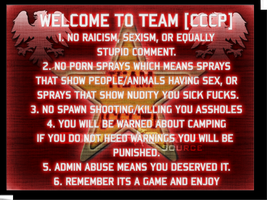 Team CCCP Rules by MissKorya