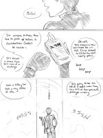 Bitch in Black :Rough pg 1:: by BleachcakeCosplay