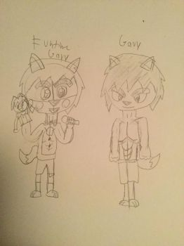 Funtime Gary and Gary  by Romeo1900
