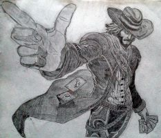 Twisted Fate High Noon Skin by DanNacht