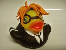 Ronald Knox Duck by spongekitty