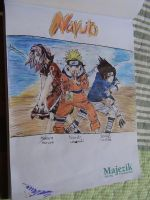 Naruto Cover Fan Art by ser-en