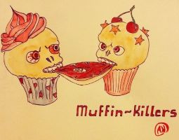 Muffin-killers by Arsenid