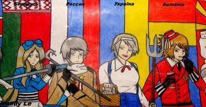 [Hetalia] Europe 6 by KhangHi