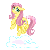 Fluttershy Being Adorable by DearClarity