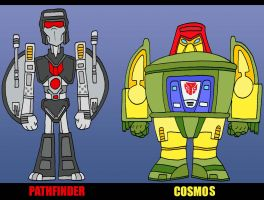Transbots and Go-Formers by Lordwormm