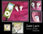 Justin Law's Death Headphones by tenshiketsueki1000