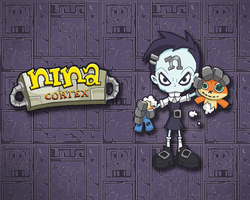 Nina Cortex Wallpaper by E-122-Psi