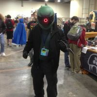 Finished Protomen Cosplay: Wily's Assassin by PerpetualVision1