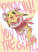 Pikachu! You are the girl! by Laika005