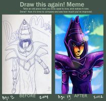 Draw This Again: Dark Magician by paje-chan