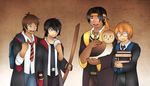 Voltron Wizards by Mutant-Girl013