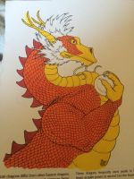Red dragon by VISIONARYGirl