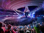 Giantess Ke$ha's Concert by docop