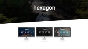 Hexagon Coming Soon Template by bootstrappremium