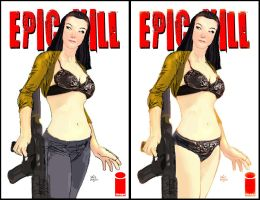 Epic Kill sexy bra cover by Raffaele-Ienco