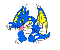 Gift: Aaron The Dragon - Alpha (Chibi) by ArchDarker