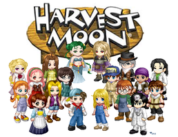 Simply Harvest Moon by love-Ani