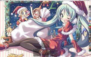:ds.1208: A Miku Christmas by rieli