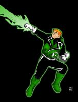 green lantern guy gardner by cobiegoesboom