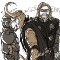 Marvel: scr-eam by thunderjelly