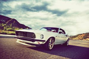 1969 Ford Mustang - The Carbon-Fiber Colt by OkamIGrey