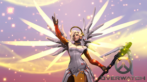 Overwatch - Mercy (New) by DarknessRingoGallery