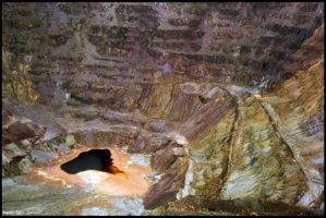 + Lavender Copper Mine Pit + by Magnetic-Roses