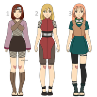 Naruto OC Adoptables #2 by Purinsesu-sama
