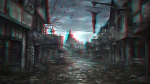 The Dark Ages 3-D conversion by MVRamsey