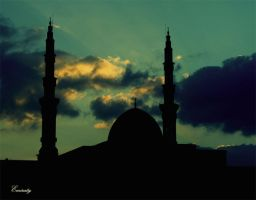 mosque in shrjah by Emiraty