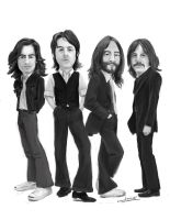 The Beatles by xjordi360