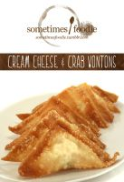 Cream Cheese and Crab Wontons by chat-noir