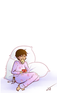 Sakura in her Pjs by Love-bumble
