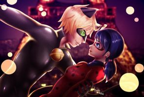 miracolous ladybug  - love is in the air by Lezzette