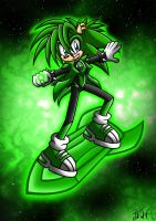 Green Lantern Manic by Berty-J-A