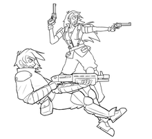 Trigger Ego Fan Art (old+unfinished) by ShakerSilver