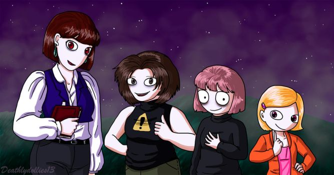 The Master of Dolls Characters by Deathlydollies13