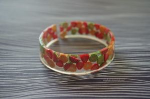 fruit bangle by exoplastic