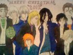 Bleach Christmas picture by Yatorima